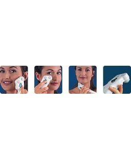 Elettrostimolatore viso per tonificazione viso e collo Vupiesse Tua Viso applicazione