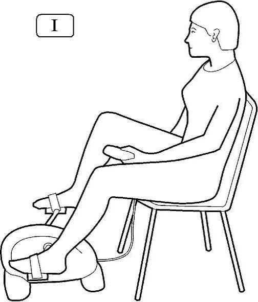 minibike posizione arti inferiori