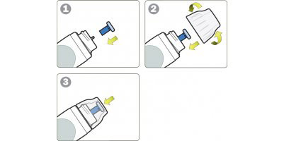 Come inserire i Dischi