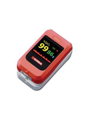 Pulsossimetro OXY 10 Gima per la rilevazione di ossigeno nel sangue e frequenza cardiaca