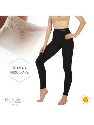 Leggins Nero Day Davanti